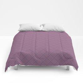 Deco Diamonds - Pink and Purple Comforters