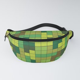 Tetris Camouflage Forest Fanny Pack