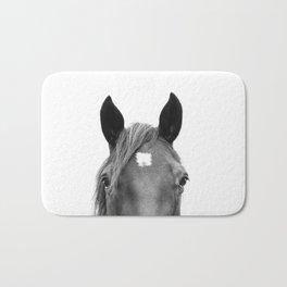 Peeking Horse Bath Mat