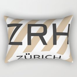 ZRH Alpine Chocolade Rectangular Pillow