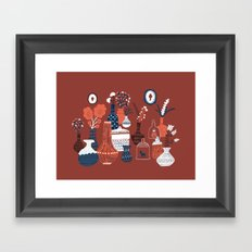 Antikvariaatti Framed Art Print