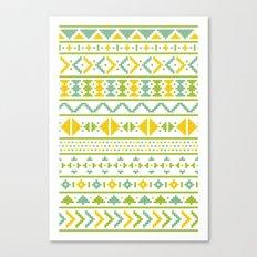 Christmas Jumper Pattern Canvas Print