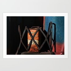 Gas Can Art Print