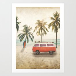 Traveling Time Art Print