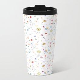 space pattern Metal Travel Mug