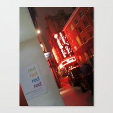 RED? Canvas Print