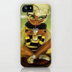 Bug Girls: Bee snack break iPhone (5, 5s) Slim Case