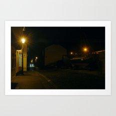 Evening Lights 3 Art Print