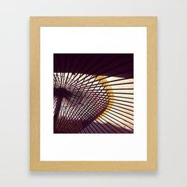 Japanese Umbrella Framed Art Print
