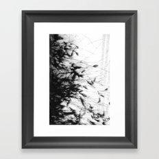 Dark Rain Framed Art Print