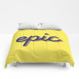 Epic - yellow version Comforters