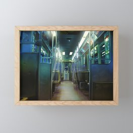 Ghost Train Framed Mini Art Print