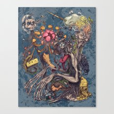 Transmigration color Canvas Print