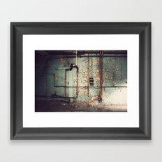 The Forgotten Wall  Framed Art Print
