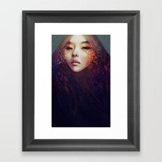 Fragment Framed Art Print