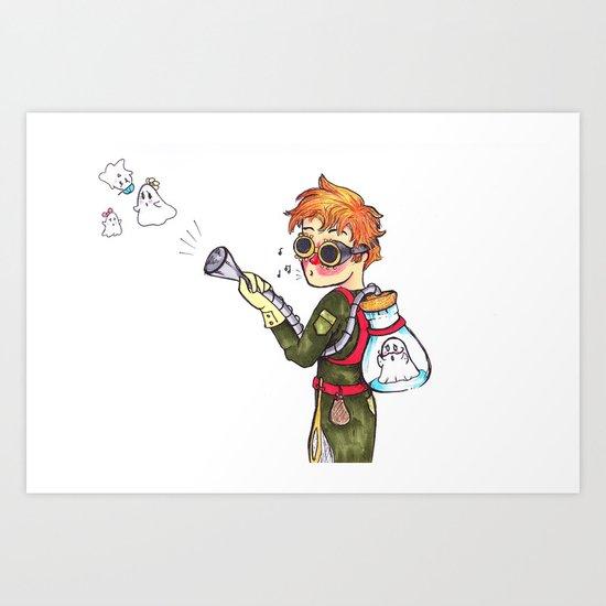 Ghost Hunter Art Print