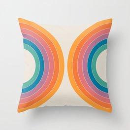 Boca Sonar Throw Pillow