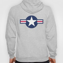US Air force Style insignia Pattern Hoody