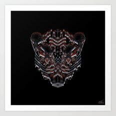 Tiger Abstract Art Print