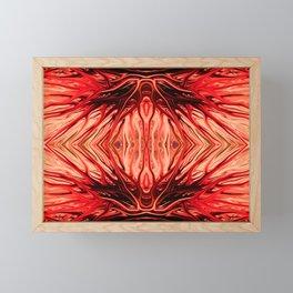 Strawberry Firethorn Quad II by Chris Sparks Framed Mini Art Print