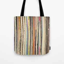 Record Collection Tote Bag