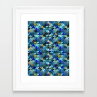 crystal Framed Art Prints featuring Crystal by Marcelo Romero