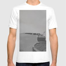 Endless Beds(2) White MEDIUM Mens Fitted Tee