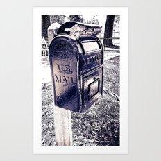 U.S. Mail Art Print