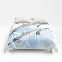 Dolphin Duo Comforters
