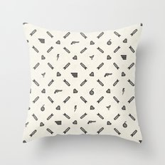 Life then Love then Death Throw Pillow