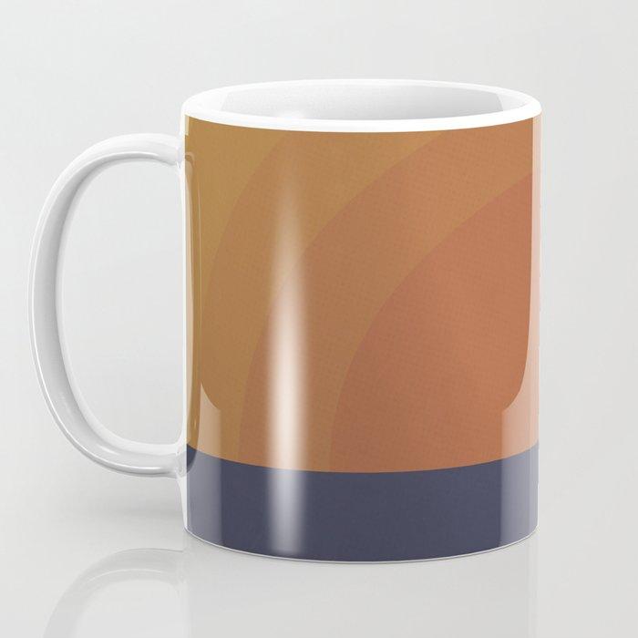 Retro Sunset Coffee Mug