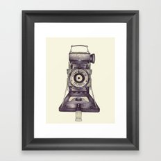 Kershaw Eight-20 King Penguin Framed Art Print