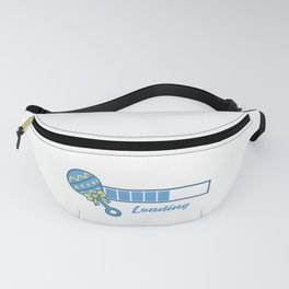 Baby Is Loading Boy Pregnancy Announcement Gift Fanny Pack