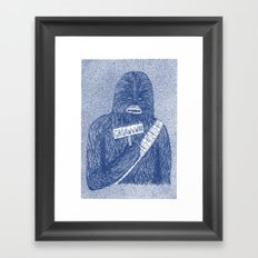 Chewie Framed Art Print