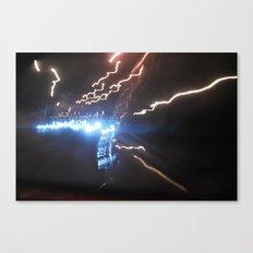 Light Strike Canvas Print