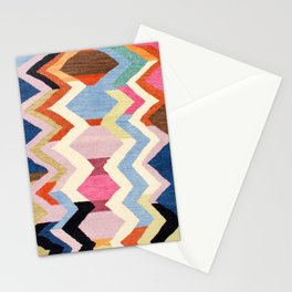 Colored Oriental  Berber Traditional Moroccan Artwork  Stationery Cards