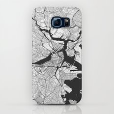Boston Map Gray Slim Case Galaxy S7