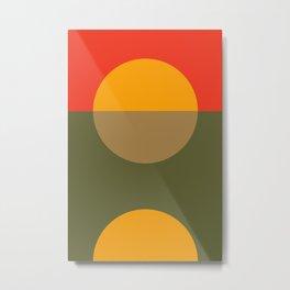 Spring- Pantone Warm color Metal Print