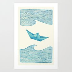 High Seas Art Print