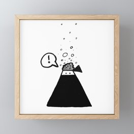The brain of a ninja Framed Mini Art Print