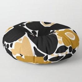 Mod Flower Patch {1} Floor Pillow