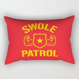 Swole Patrol Rectangular Pillow