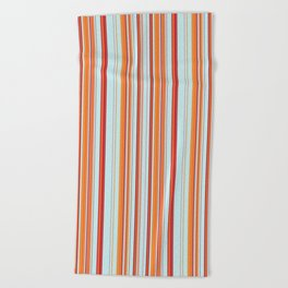 Combined Stripe Pattern - Clear Sailing Colorway Beach Towel