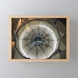 Foucault Pendulum from Above Framed Mini Art Print