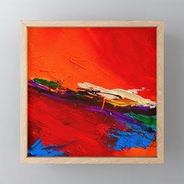 RED SENSATIONS Framed Mini Art Print