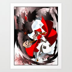 The Big Bad Wolf Art Print
