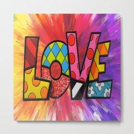 Exploding Love Metal Print
