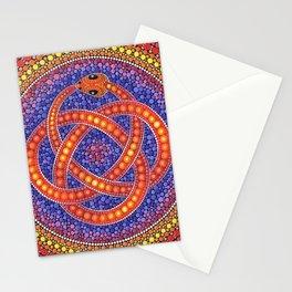 Snake knot Stationery Cards