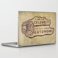 celebrity Laptop & iPad Skins featuring Celebrity & Autonomy by Josh LaFayette