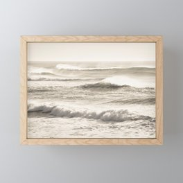 Windswept Waves Framed Mini Art Print
